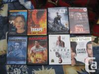All DVDs are previously viewed/owned and from my