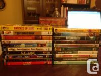 Selling the DVDs as a lot - all must go together. All