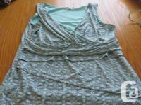 Tops and bottoms, one summer dress and one skirt, sizes