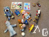 We have some baby and more toddler items and toys to