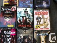 We are downsizing our movie/TV show collection. This is