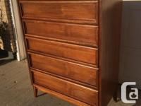 Very nice solid wood dressers with lots of storage Most