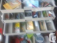 I am selling a large amount of tackle including 2 FULL