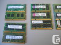 - 4GB (2x2GB) DDR3-1600 PC3-12800 (1xSamsung, 1xHynix)