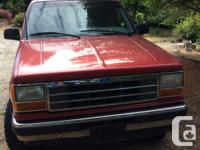 Make Ford Model Explorer Limited 4x4 Year 1991 Colour