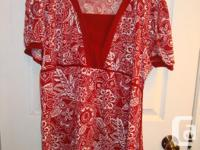 I have Lots of Like New Quality Maternity shirts, tops,