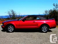 Make Ford Model Mustang Year 2005 Colour RED Clearcoat
