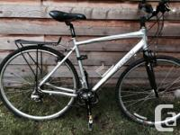 Large size Louis Garneau bike, nearly new condition,