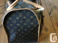 LOUIS VUITTON Monogram Sac Chien 50 Dog Carrier Pet Bag