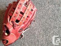 This is a very good quality baseball glove...