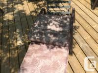 Lounge chair - great for tanning and relaxing outdoors