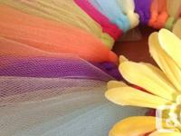 I specialize in ADORABLE TUTUS for your youngsters, at