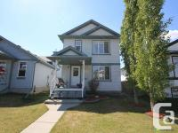 This lovely detached home is a rare gem in the Edmonton
