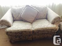 Very comfortable & attractive matching couch and