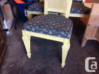 Solid chairs! They need some TLC, anyone handy with