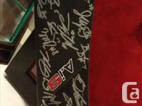 I have a reebok ai9 professional stick signed by the