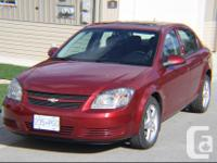 Make Chevrolet Model Cobalt Year 2009 Colour Red kms