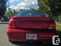Make Dodge Model Stratus Year 1997 Colour Candy Apple