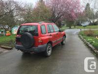 Make Chevrolet Year 2004 Colour red Trans Manual kms