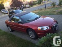 Make Chrysler Model Sebring Year 2004 Colour red kms