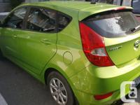 Make Hyundai Year 2013 Colour Apple Green kms 46000