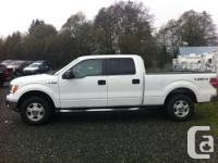 Make. Ford. Version. F-150. Year. 2012. Colour. White.