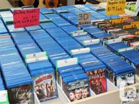 WE'VE JUST LOWERED OUR PRICES ON BLU-RAYS AND DVD'S