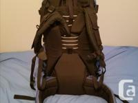 Mint condition premier backpack. Used once to hike the