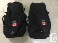 2 knapsacks for $ONE HUNDRED or $50 each. Used for 4