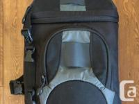Perfect condition camera bag. Never used. Comes with