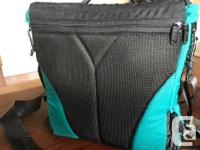 Like new backpack with waist belt and shoulder harness