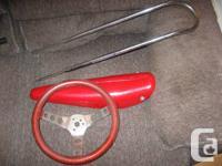 'Handlebar' Steering Wheel (needs stem), vintage and