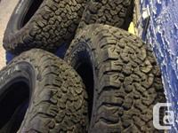 LT 245/75R16 BF Goodrich All Terrian TA KO2 tires.