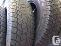 Set 4 Toyo Open Country A/T  LT 285 75 R 17  10 Ply