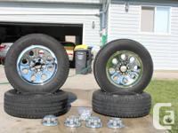 LT245/70R17 Firestone Transforce Tires (4) installed on