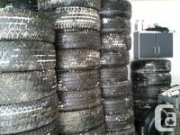 Got a full tons of Michelin tires that came off our