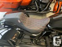 Lucky Dave's custom Harley seats They look great and