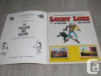I have a Lucky Luke stickers magazine from the early