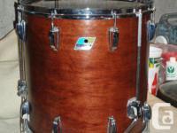 Beautiful Set of Vintage Ludwig Drums 12 x 8 13 x 9 16