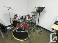 Ludwig drum set for sale. In excelent condition.  New
