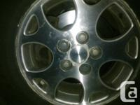 Replace shed or cracked wheel lug covers as well as