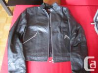 I have a black Ladies Size Small Danier leather jacket.
