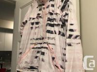 Lululemon lightweight coat, good for rainy weather or