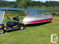 14 FOOT LUND BOAT ONLY EVER USED IN FRESH WATER. But