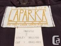 Lundstrom Laparka Shelled Full Length Jacket For Sale.