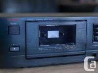 Luxman K-111 Tape Deck with HX Pro Head Here is a great for sale  British Columbia
