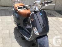 Make Vespa Model Lx Year 2007 Colour Ash Blue kms 3400