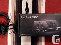 M-Audio Fast Track C400 4x6 Recording Interface with