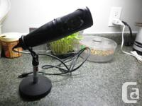 M-One Microphone. Have 2 page writeup from manufacturer