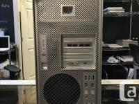We have a Mac Pro Tower. Specifications: Model 3,1 OS X, used for sale  British Columbia